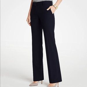 Ann Taylor Loft Kate Classic Black Dress Trousers